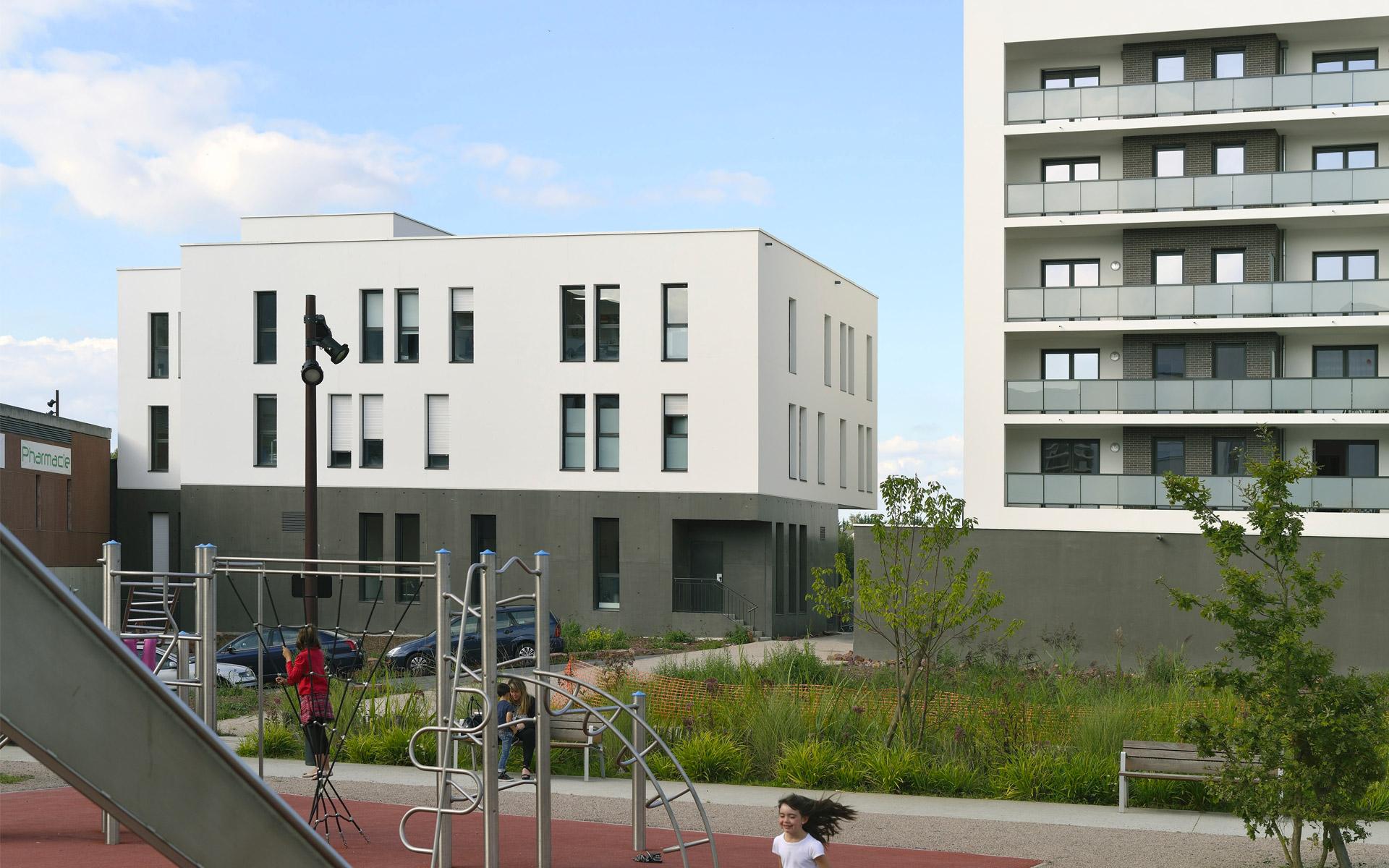 Résidence Les Jardins de Camille - Paumier Architectes Associés